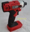 new Workzone xfinity 20v cordless Impact driver Titanium skin only power tool